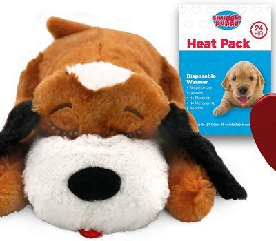 Snuggle Puppy - Brown & White