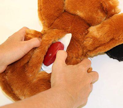Snuggle Puppy velcro pocket